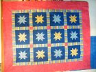 Maree's easy star quilt made in class with Rachel_1