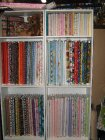 Selection of fabrics for baby's or children's quilts_1